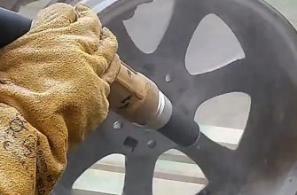 Обработка металла пескоструем
